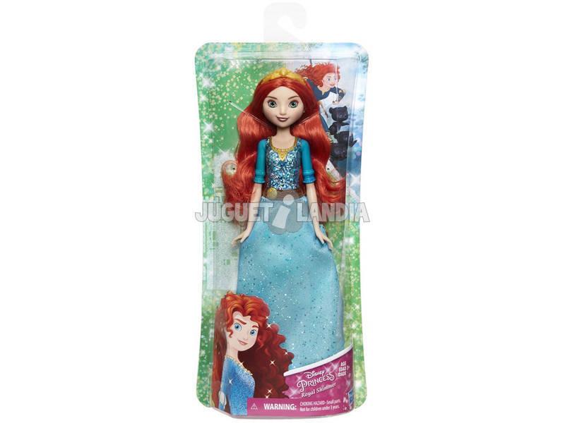 Boneca Princesas Disney Mérida Brilho Real Hasbro E4164EU40