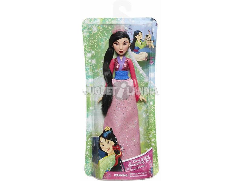 Muñeca Princesas Disney Mulan Brillo Real Hasbro E4167EU40