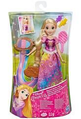 Poupée Princesses Disney Rapunzel Style Arc-en-ciel Hasbro E4646