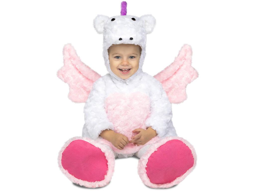 Costume Bimba S Unicorno Peluche