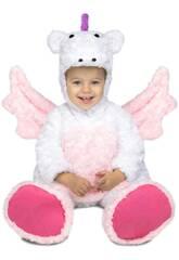 imagen Disfraz Niña S Unicornio Peluche