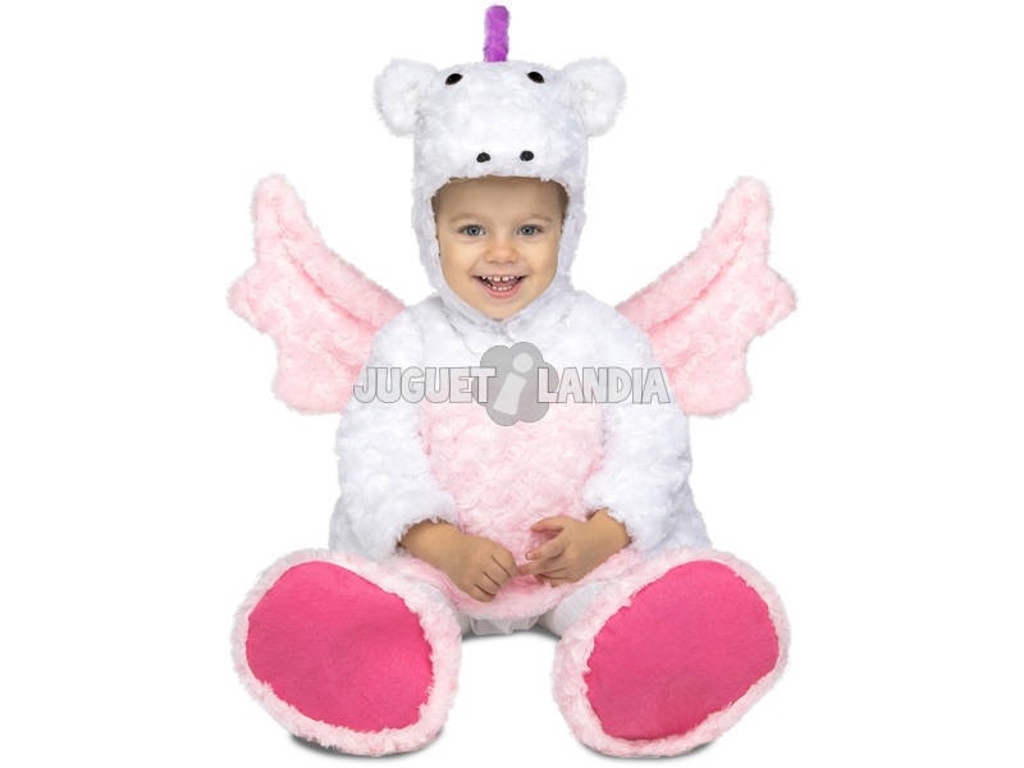 Costume Bimbo M Unicorno Peluche