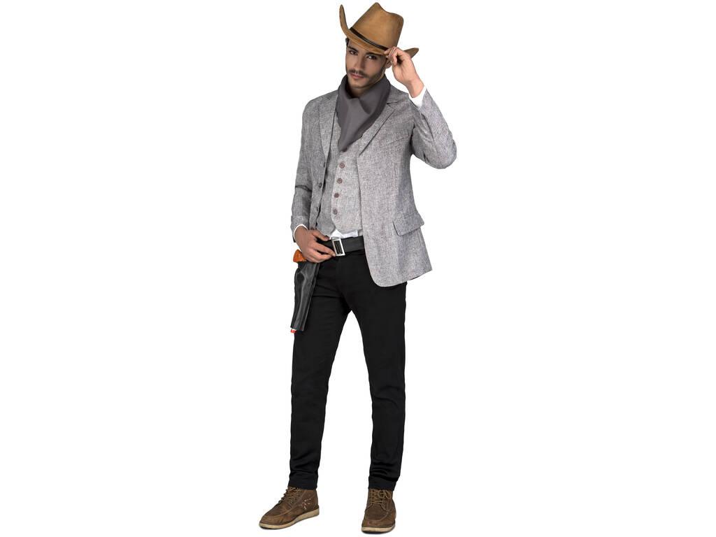 Disfarce Homem L Bandido Cinzento