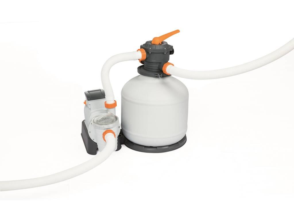 Pompa di filtraggio a sabbia Flowclear 9.841 l/h Bestway 58486