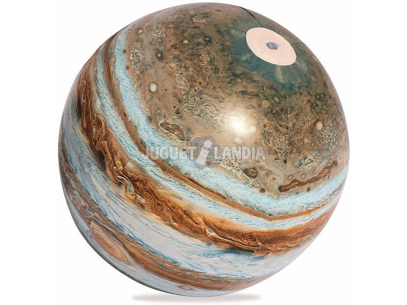 Bola insuflável 61 cm. Júpiter Luz LED Bestway 31043