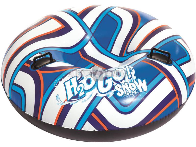 Trenó Inflável Azul H2O Go! Snow 127 cm. Bestway 39006