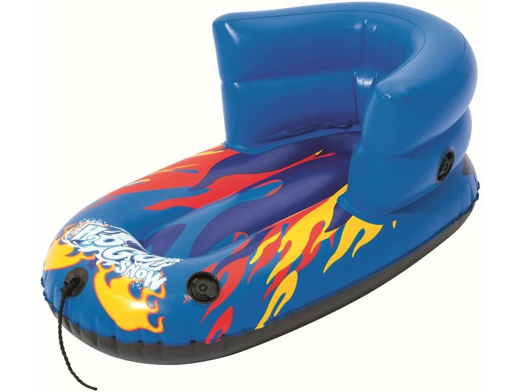 Trineo Hinchable Infantil con Respaldo H2O Go! Snow 84x46 cm. Bestway 39057