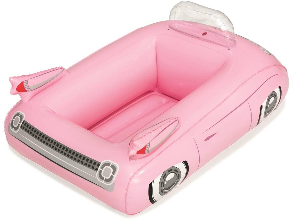 Auto Rosa Frigorifero gonfiabile 89x69 cm. Bestway 43164