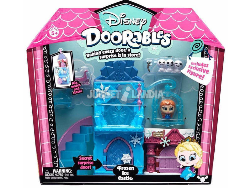 Disney Doorables Playset Fantasy Mini Bambole Disney Famosa 700014656