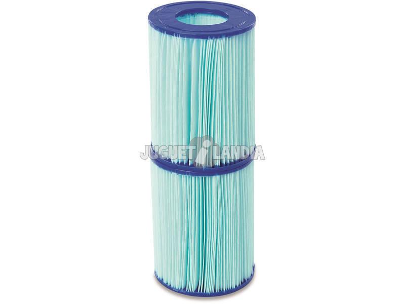 Cartuccia Antibatterica Tipo II per Pompa Filtro 2.006-3.028 l/h Flowclear Bestway 58503