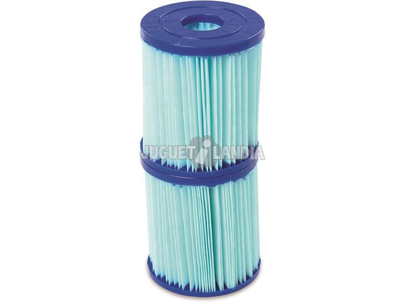 Cartuccia Antibatterica Tipo I per Pompa Filtro 1.249 l/h Flowclear Bestway 58510