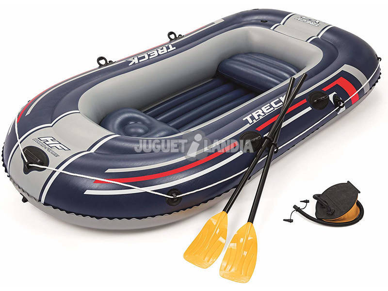 Barca Hinchable Treck X2 Set 255x127 cm. Bestway 61068