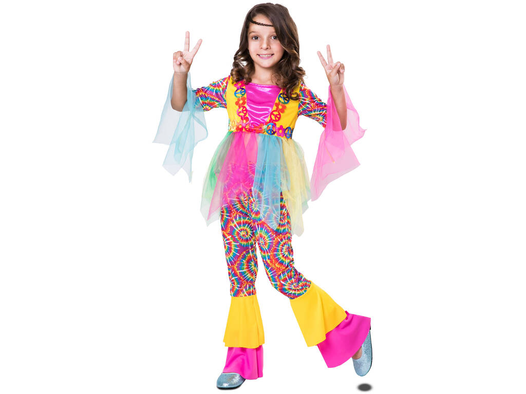 Disfarce Menina L Hippie