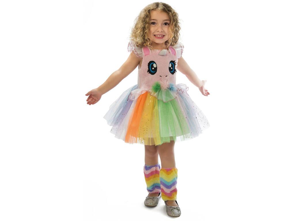 Costume Bambino S Unicorno Rosa occhietti