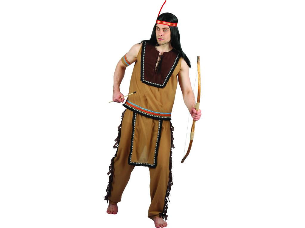 Disfarce Indiano Homem Tamanho L