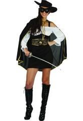 imagen Disfraz Bandida Mujer Talla S