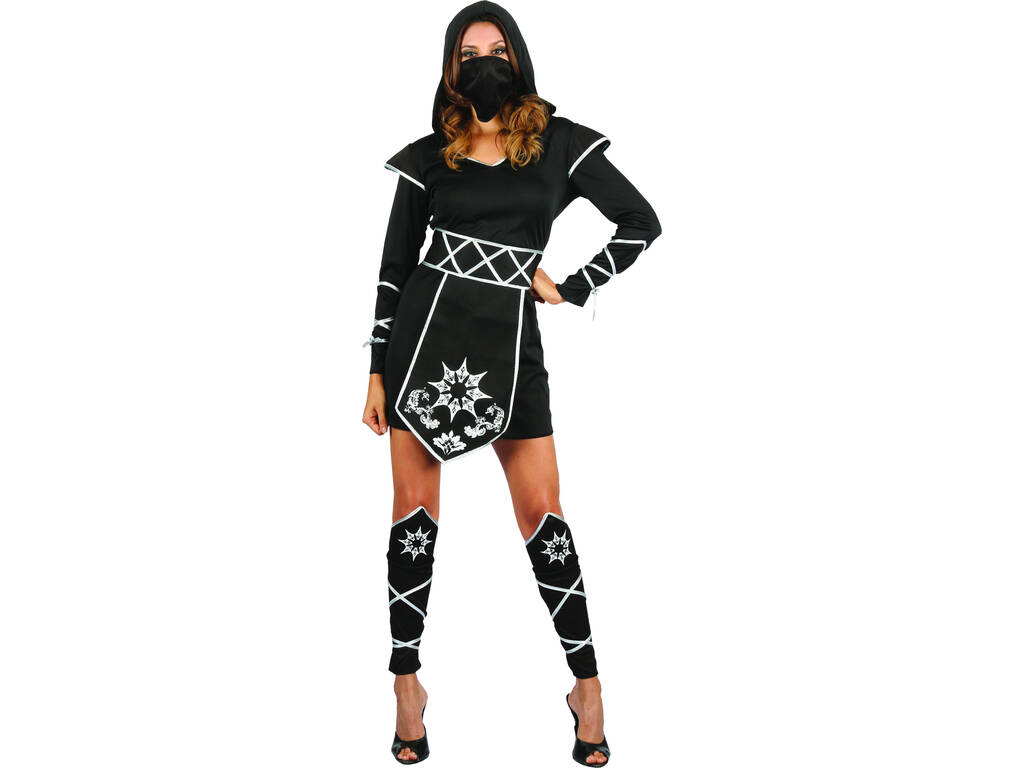 Disfarce Ninja Mulher Tamanho S