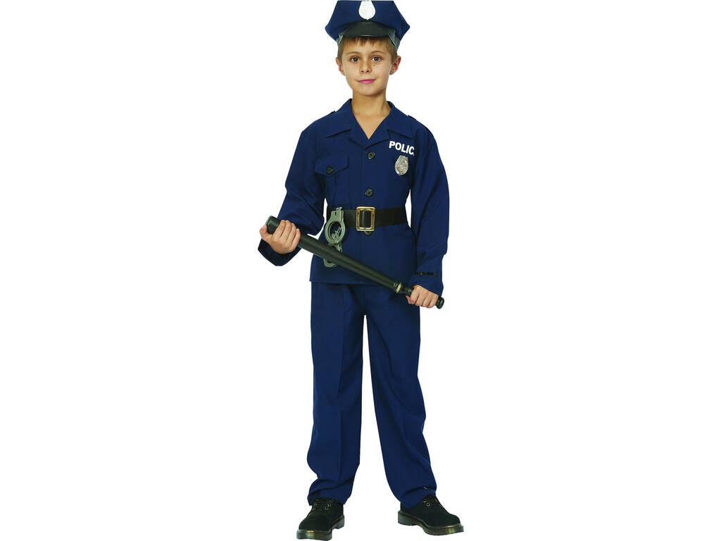Disfraz Policía Niño Talla S