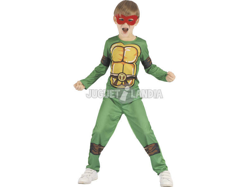 Disfraz Tortuga Niño Talla S