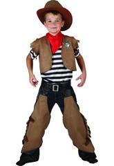 imagen Disfraz Cowboy Niño Talla S
