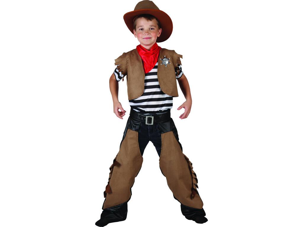 Disfarce Cowboy Menino Tamanho L