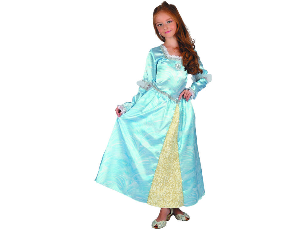 Disfarce Julieta Azul Menina Tamanho M