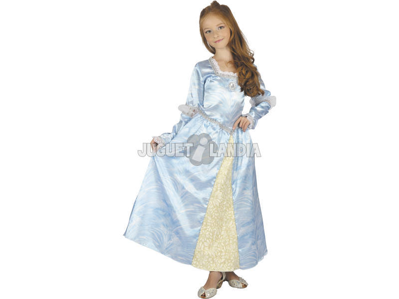 Disfraz Julieta Azul Niña Talla L