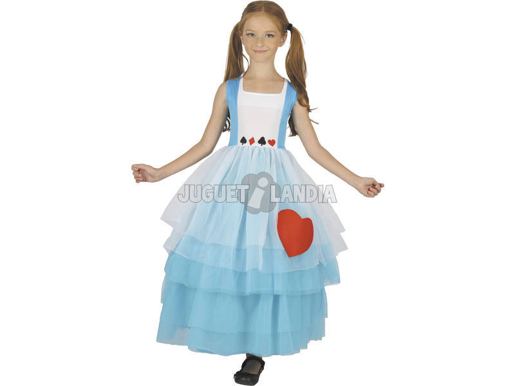 Disfraz Alicia Niña Talla L