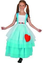 Disfraz Alicia Niña Talla XL