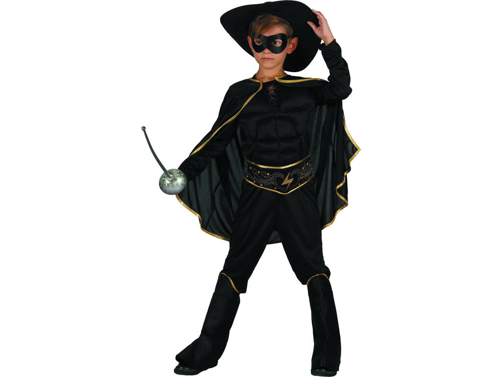 Disfraz Bandido Niño Talla XL