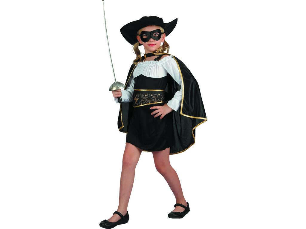 Disfraz Bandida Niña Talla L