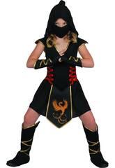 Kostüm Ninja Mädchen Größe S