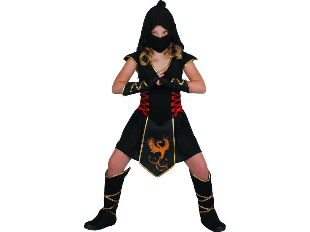 Disfarce Ninja Menina Tamanho XL