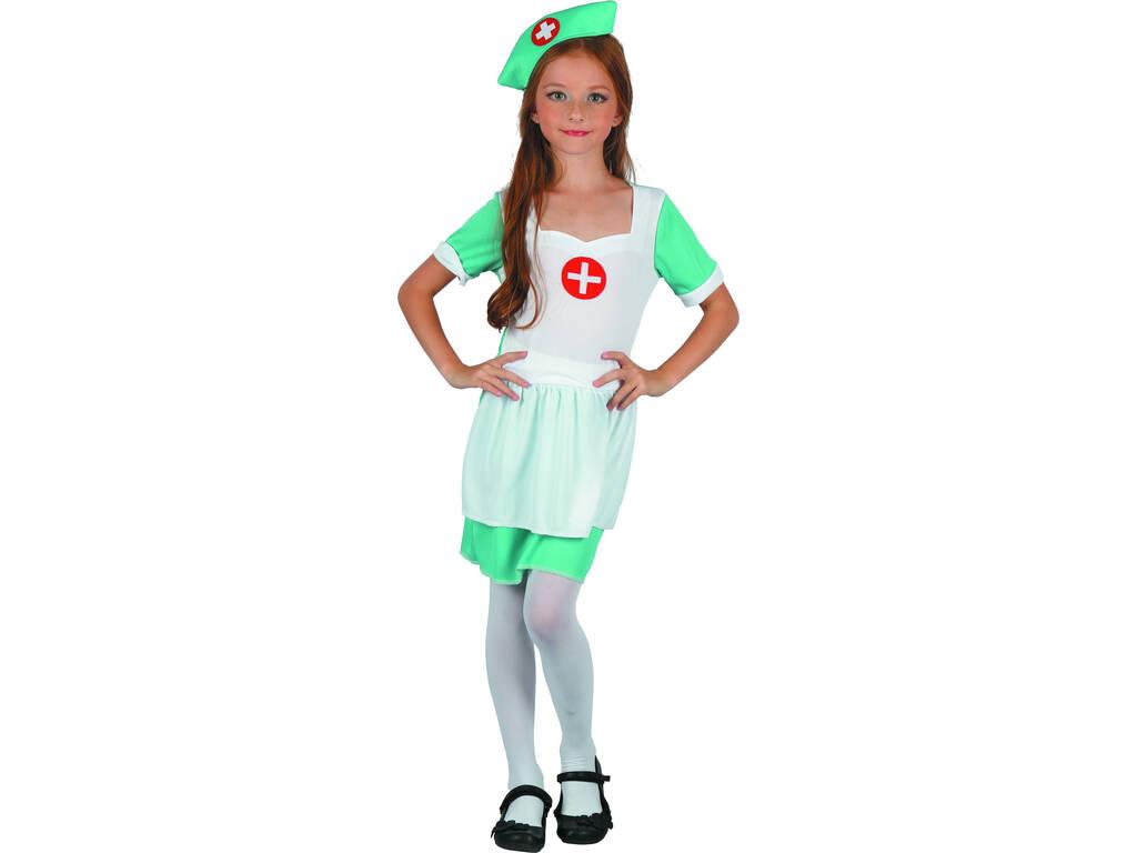 Disfarce Enfermeira Menina Tamanho M