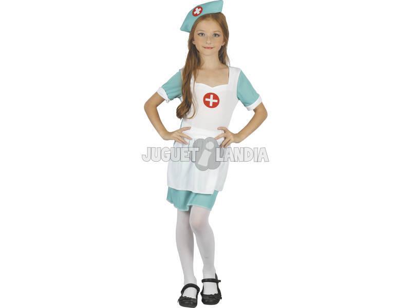 Disfraz Enfermera Niña Talla L