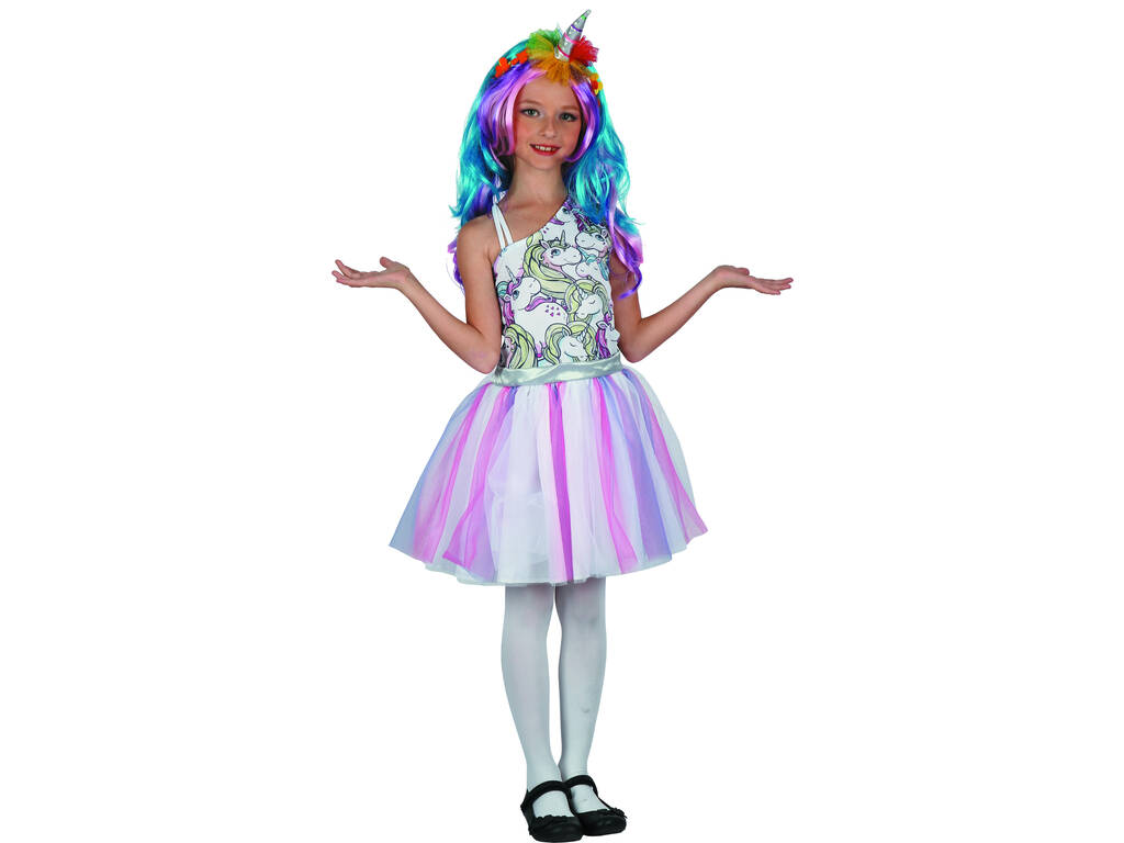 Disfraz Unicornio Niña Talla XL