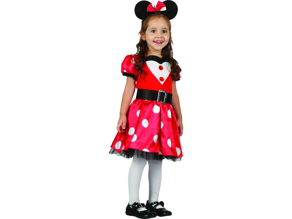 Costume Topolina Bambina M