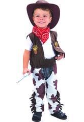 imagen Disfraz Cowboy Bebé Talla S