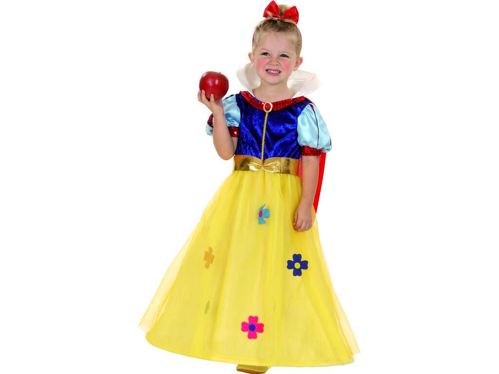 Disfarce Princesa das Neves Bebé Tamanho M