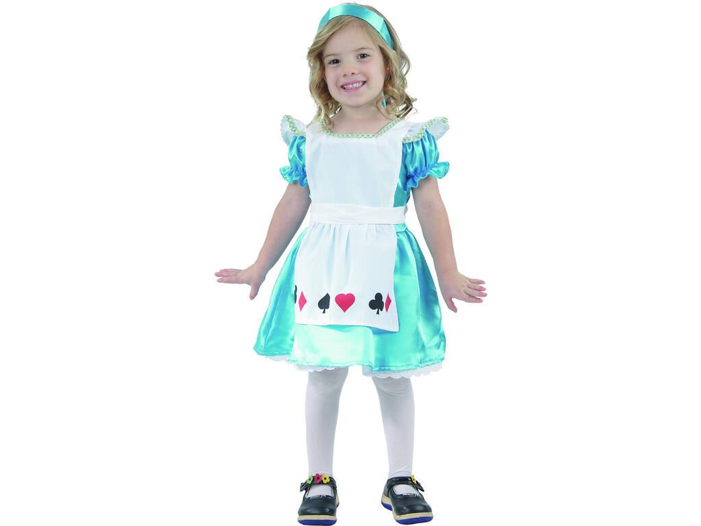 Disfraz Alice Bebé Talla M