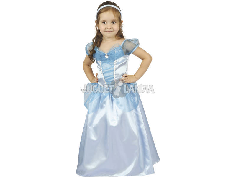 Costume da Principessa Azzurro Bebè M