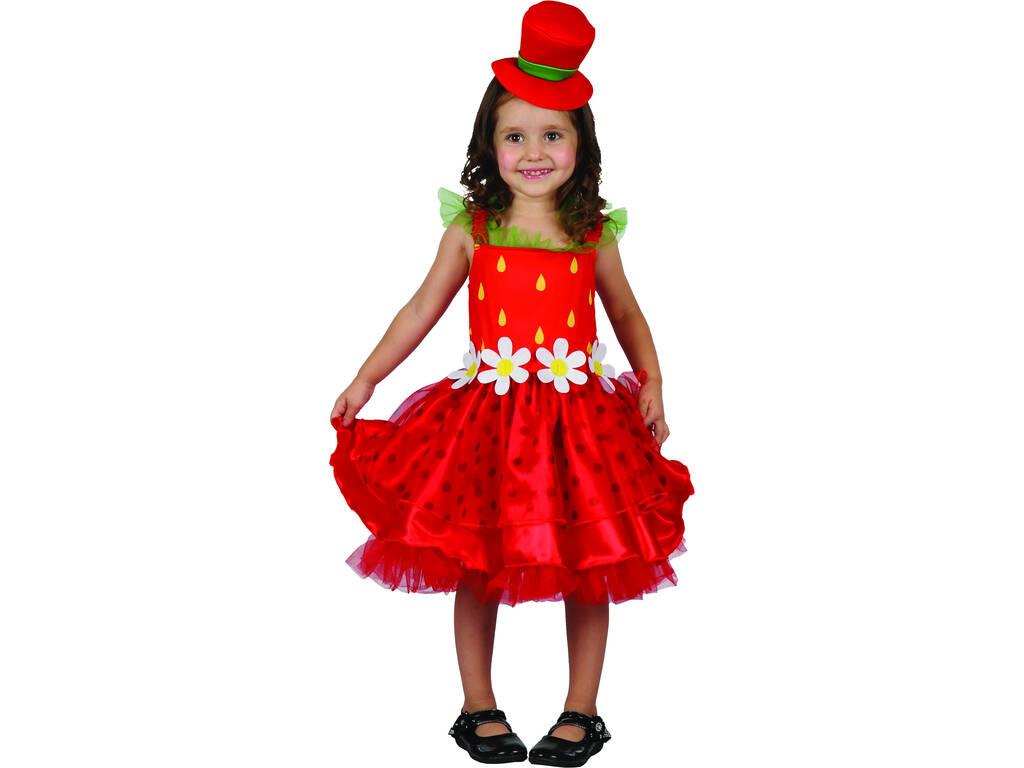 Costume Fragolina Bebè M