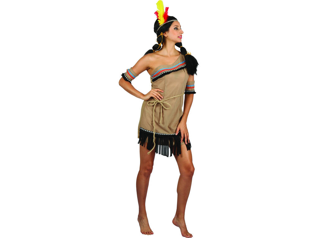 Disfraz India Mujer Talla M