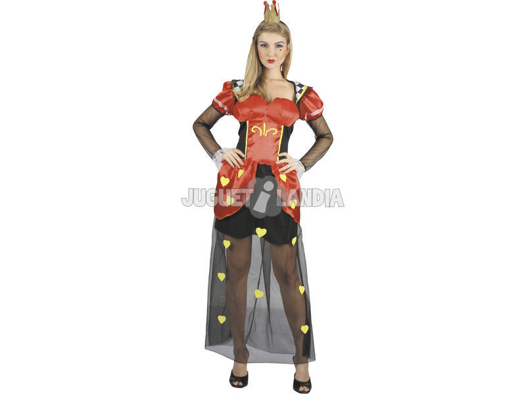 Costume Regina dei Cuori Donna L