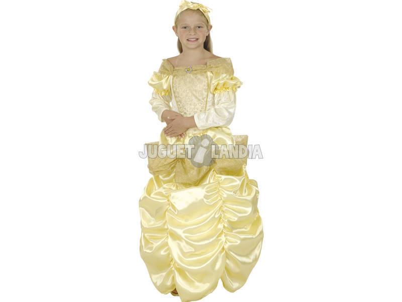 Disfarce Princesa Bella Menina Tamanho L