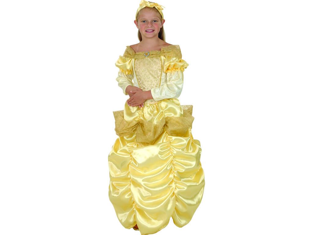 Disfarce Princesa Bella Menina Tamanho XL