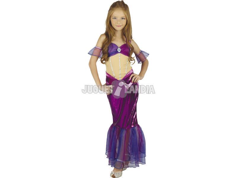 Disfraz Sirenita Niña Talla S