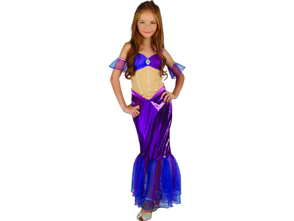 Disfraz Sirenita Niña Talla XL
