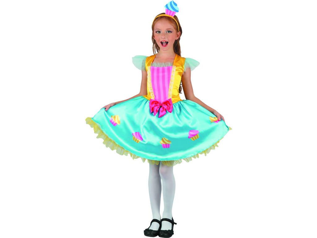 Costume Regina dei Cupcake Bimba S