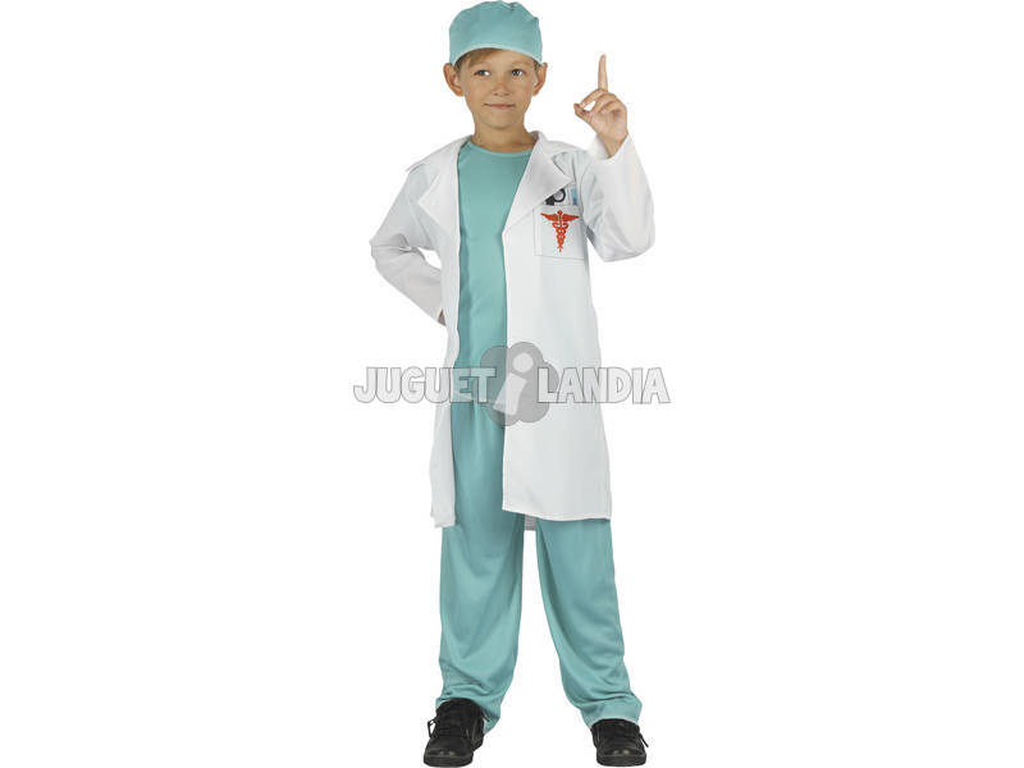 Disfarce Doutor Menino Tamanho L